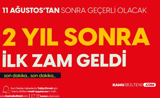 İzmir'de Taksi Ücretlerine Zam Yapıldı