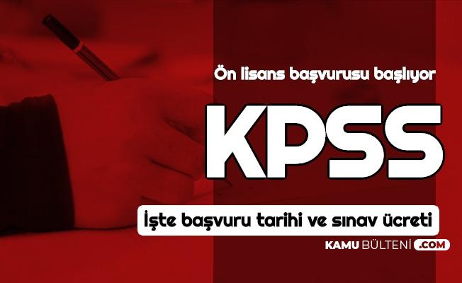KPSS Başvurusu Başlıyor-İşte Ücreti