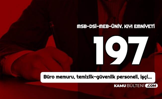 MSB, DSİ, MEB ve Kamu... İŞKUR 3-4 Bin TL Maaşla Kamuya Personel Alımı Yapıyor