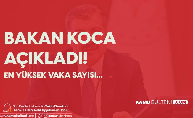 Sağlık Bakanı Koca Uyardı! 45 Günün En Yüksek Vaka Sayısını Açıkladık