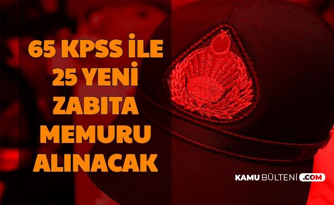 Şişli Belediyesi 65 KPSS ile Zabıta Memuru Alımı Yapacak