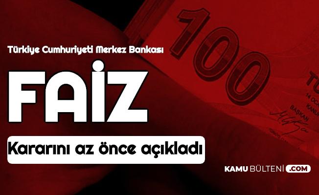 Merkez Bankası PPK Faiz Kararını Açıkladı