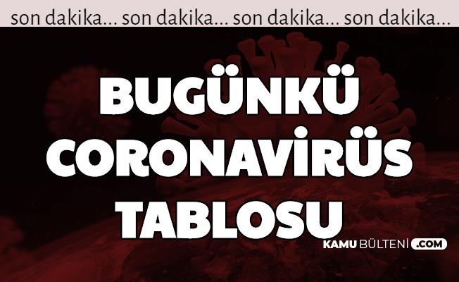 12 Eylül 2020 Covid 19 Tablosu Açıklandı-İşte Türkiye Korona Tablosu ve Vaka Sayısı
