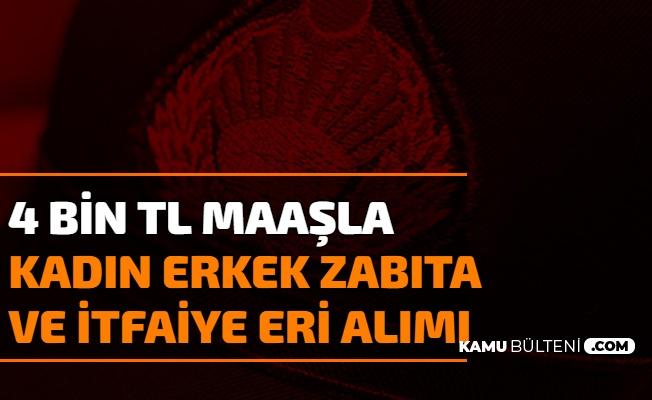 4 Bin TL Maaşla Kadın Erkek Zabıta Memuru ve İtfaiye Eri Alımı Başladı (Kağıthane - Sakarya Büyükşehir Belediyesi)