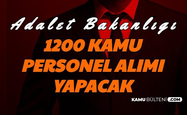 Adalet Bakanlığı 1200 Kamu Personeli Alımı Yapacak (Hakim ve Savcı)