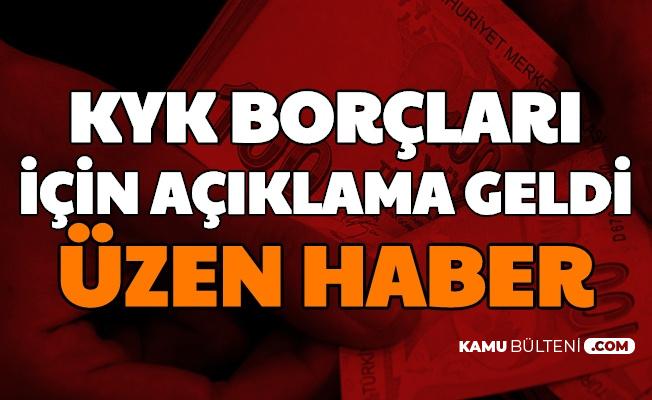 AK Parti'den KYK Borçları Açıklaması: Üzen Haber Geldi