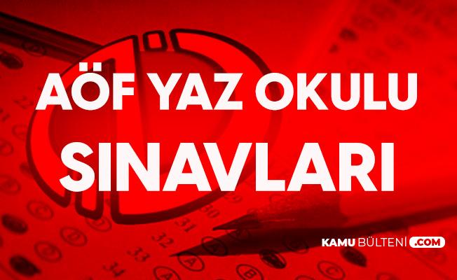 Anadolu Üniversitesi AÖF Yaz Okulu Sınavları Sona Eriyor! Sonuçlar Ne Zaman Açıklanacak?
