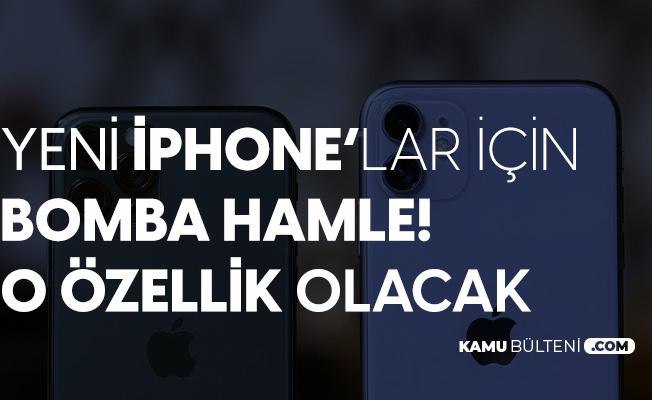Apple'dan Yeni İphone için Flaş Hamle! Yeni Özellik Ekleniyor
