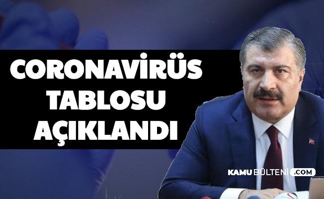 Bakan Koca Açıkladı: Türkiye 18 Eylül Koronavirüs Tablosu Vaka Sayısı