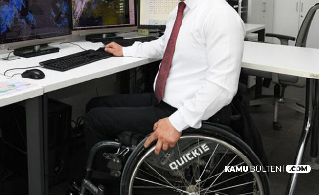 Engelli Memur Alımı İçin Son Dakika Gelişmesi