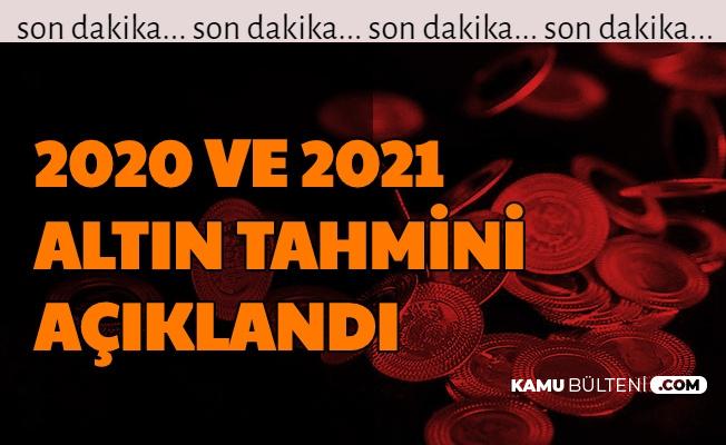 Flaş... 2020 Yıl Sonu ve 2021 Altın Fiyatları Tahmini Açıklandı