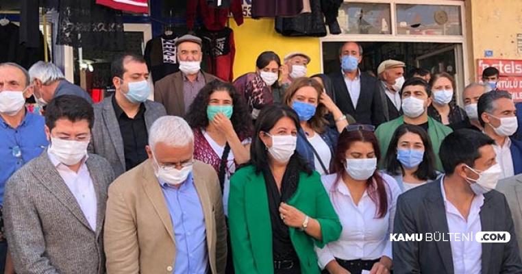 """HDP'li Vekilden Polise: """"Bana Sicil Numaranı Ver Terbiyesiz"""""""