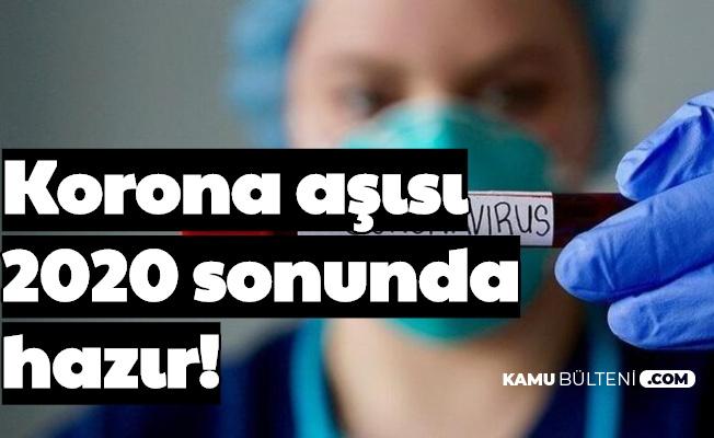 İtalyanlar Açıkladı: Korona Aşısı Yıl Sonunda Hazır