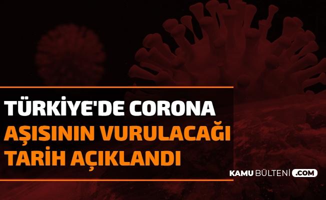 Koronavirüste Aşılama Ne Zaman Başlayacak? Tarih Açıklandı