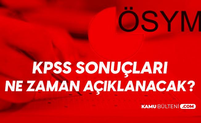 KPSS Lisans (GY-GK , Eğitim Bilimleri ve Alan Bilgisi) Soruları, Cevap Anahtarı ve Sonuçları için Bekleyiş Başladı