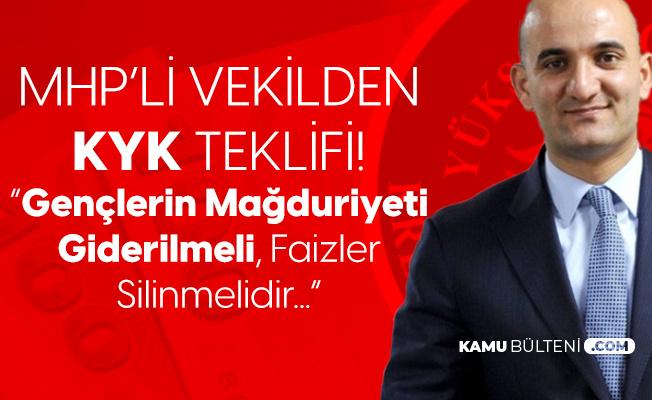 MHP Mersin Milletvekili Kılavuz'dan KYK Kredi Faiz Borçlarının Silinmesi için Kanun Teklifi
