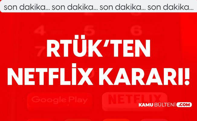 RTÜK'ten Netflix Kararı! Ceza Geldi