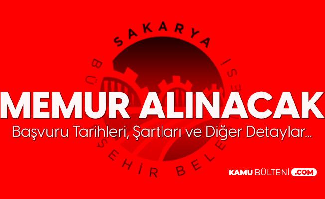 Sakarya Büyükşehir Belediyesi'ne Memur Alımı Yapılacak - Zabıta Memuru ve İtfaiye Eri Alımı Şartları