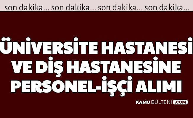 Süleyman Demirel Üniversitesi Personel ve İşçi Alımı Yapacak: Başvuru İnternetten Başladı