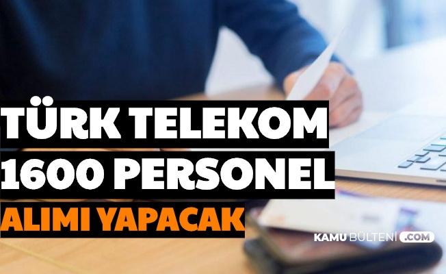 3 Bin TL Maaşla 16 Şehre AssisTT Türk Telekom'a 1600 Personel Alımı Yapılacak: İşte Başvuru Şartları ve Sayfası