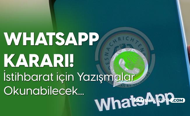 Alman Hükümetinden Whatsapp Kararı! İstihbarat Yazışmaları Okuyabilecek