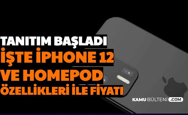 Apple Tanıtımı Yaptı: İşte iPhone 12 ve HomePod Özellikleri Fiyatı