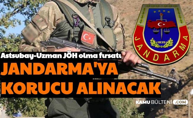 Astsubay-Uzman Çavuş JÖH Olma Fırsatı: Jandarma'ya Korucu Alımı Yapılıyor
