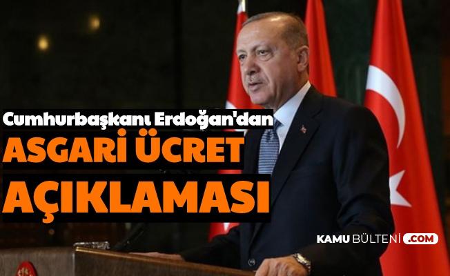 Cumhurbaşkanı Erdoğan'dan Asgari Ücret Çıkışı 2020