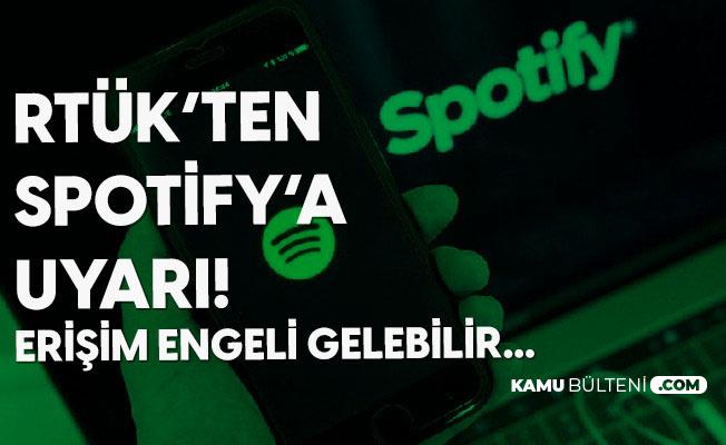 Rtük'ten Spotify ve Foxplay Hamlesi: Lisans Alınmazsa Erişim Engeli Gelecek