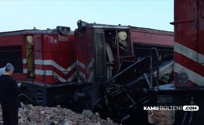 Son Dakika Yozgat'ta Tren Kazası: İki Tren Çarpıştı