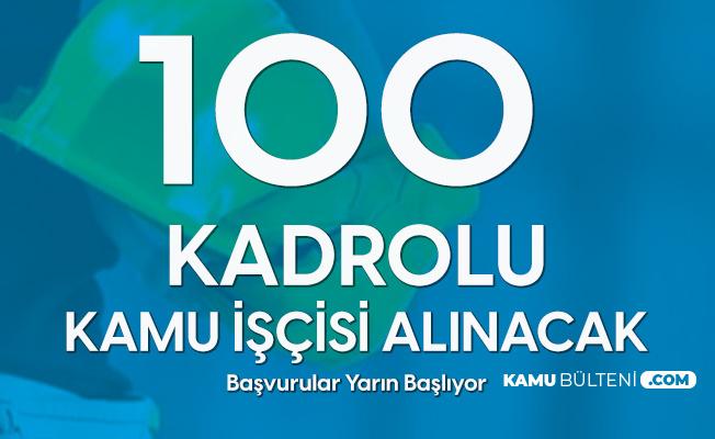 TİGEM 100 Kadrolu Kamu İşçisi Alımı Başvuruları Yarın Başlıyor