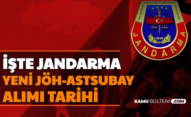 Yeni Dönem Jandarma JÖH Alımı Tarihi