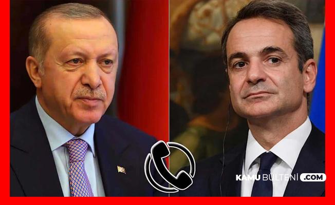 Yunanistan Başbakanı Miçotakis'ten Cumhurbaşkanı Erdoğan'a Telefon