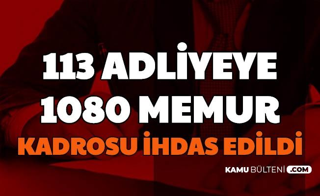 Adalet Bakanlığı Personel Alımı Açıklaması: 113 Adliyeye 1080 Memur Kadrosu İhdas Edildi