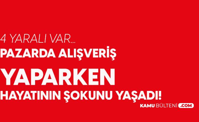Antalya'da Ortalık Karıştı! Pazarcı Kavgasında 4 Yaralı Var...