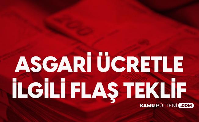 CHP Genel Başkanı Kılıçdaroğlu'ndan Asgari Ücretle İlgili Flaş Teklif