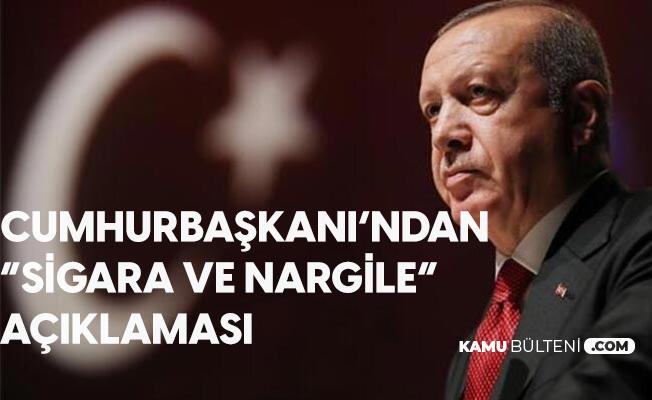 Cumhurbaşkanı Erdoğan'dan 'Sigara' Açıklaması: Sadece Milletimizin Sağlığı için İstiyorum