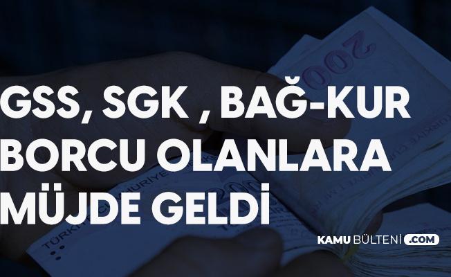 Düzenleme Meclisten Geçti! GSS, SGK, Bağ-Kur, İş Kazası Alacakları, İdari Para Cezaları da Yapılandırılacak