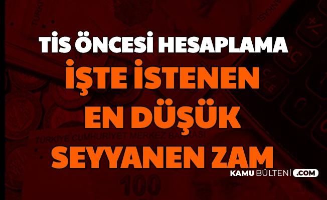 Oranlar Değişti: İşte Taşerona Gereken En Düşük Seyyanen Zam (Kadroya Geçen 4/D İşçiler)