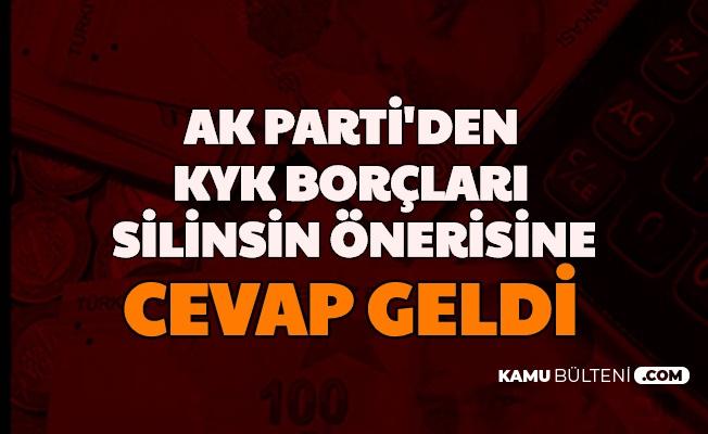 """KYK Borçları Silinsin Teklifine AK Parti'den Cevap: """"Adalet Varsa Devlet Herkesten Eşit Tahsil Eder"""""""