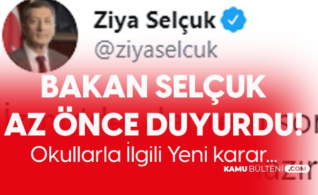Milli Eğitim Bakanı'ndan Açıklama Geldi: İzmir'de 1 Hafta Daha Uzaktan Eğitim