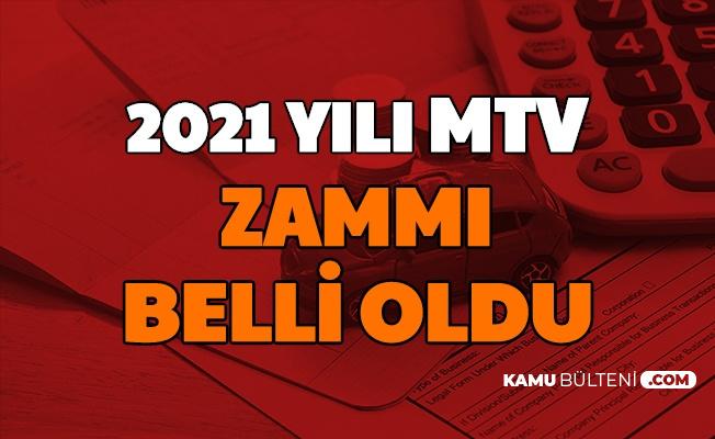 MTV'ye Yüzde 9.11 Zam: İşte 2021 Motorlu Taşıtlar Vergisi Zammı ve Hesaplaması