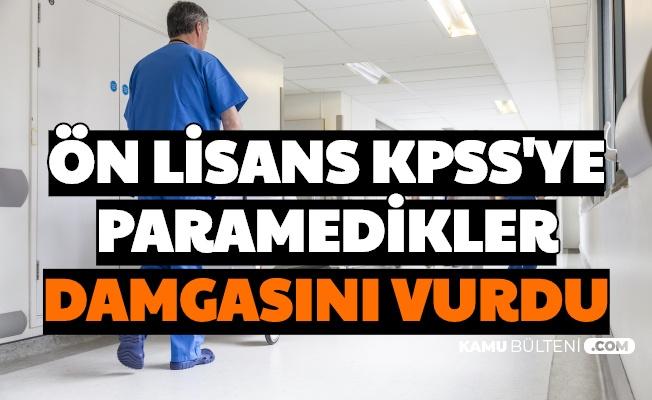 KPSS'de 87 Üzeri Alan Her İki Kişiden Biri Paramedik Mezunu