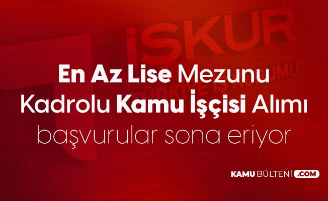 Recep Tayyip Erdoğan Üniversitesi'ne En Az Lise Mezunu Kadrolu İşçi Alımı Yapılacak