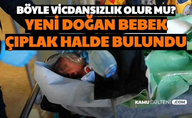 Sivas'ta Boş Arazide Çıplak Halde Bulunan Bebek Kurtarılamadı