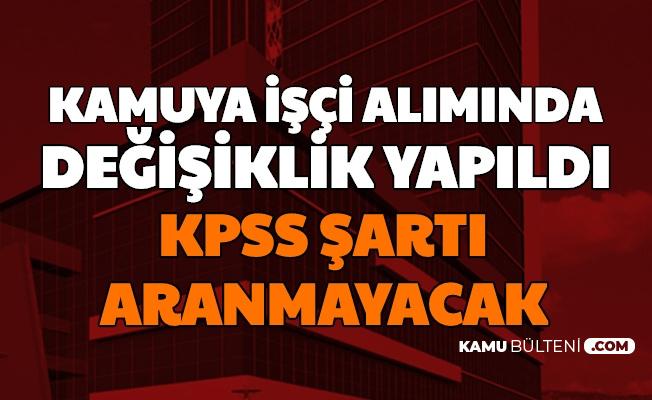 Tarım ve Orman Bakanlığı İşçi Alımında KPSS Şartı Olmayacak: İşte Kadrolar