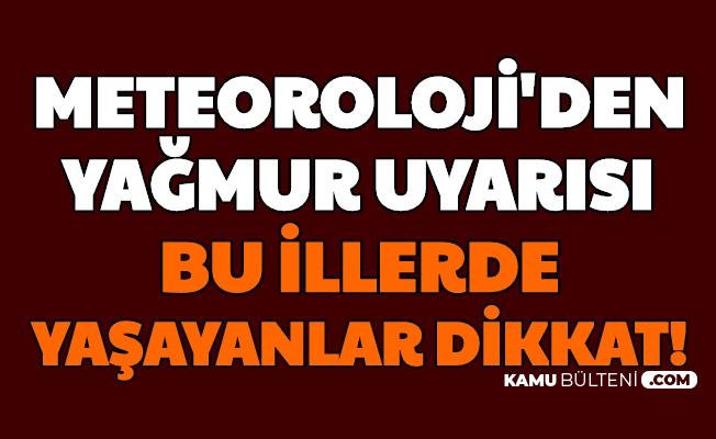 Türkiye Geneli Hava Durumu Açıklandı: Bu Şehirlere Kuvvetli Yağmur Geliyor