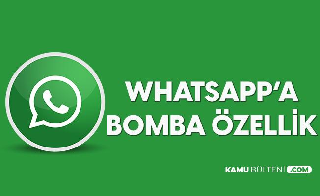 Whatsapp'a Yeni Özellik! Mesajlarda Bir Dönem Sona Eriyor
