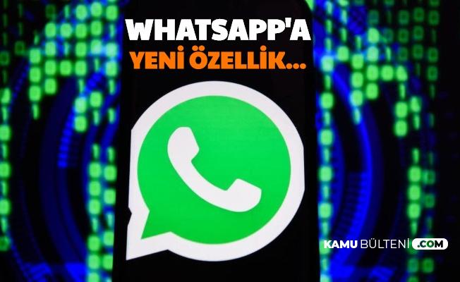 WhatsApp'a Yeni Özellik: SONRA OKU