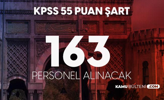163 Sözleşmeli Personel Alımı Başvuruları Sürüyor